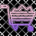 Wheelbarrow Icon