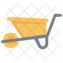 Wheelbarrow Farming Gardening Icon