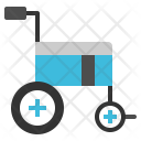 Wheelchair Patient Emergency Icon