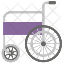 Wheelchair Disability Walking Support Icon