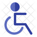 Wheelchair Hospital Disability Icon