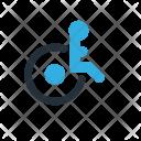 Wheelchair Olympics Paralympics Icon