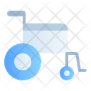 Medical Healthy Wheelchair Icon
