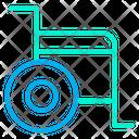 Wheelchair Handicap Transport Icon