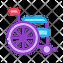 Vector Wheelchair Medical Icon