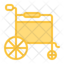Wheelchair Medical Medicine Icon