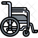 Wheelchair Medical Hospital Icon