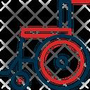 Wheel Chair Hospital Medical Icon