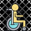 Wheelchair Handycap Disability Icon