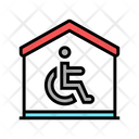 House Disabled Color Icon