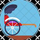 Public Transport Transportation Wheelchair Icon