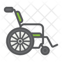 Wheelchair Disabled Wheel Icon