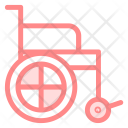Wheelchair Patient Injury Icon