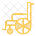 Wheelchair Injury Patient Icon