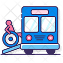 Wheelchair Accessible Bus Icon