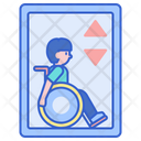Wheelchair Lift Lift Disabled Icon