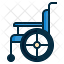 Wheelchaire Disability Patient Icon