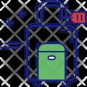 Wheeled Luggage Icon