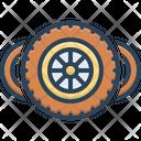 Wheels Tire Rubber Icon