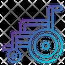 Wheels Chair Icon
