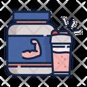 Whey Protein Powder Icon