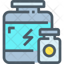 Whey Protein Bottle Icon