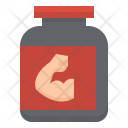 Whey Protein Exercise Icon