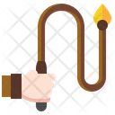 Whip Slavery Torture Icon