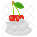 Whipped Cherries Cherries Tart Cherries Whip Icon