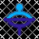 Whirligig Toy Icon