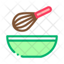 Whisk Bowl Spice Icon