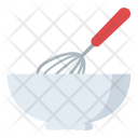Whisk Bowl Batter Icon