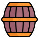 Whiskey Barrel Wine Barrel Barrel Icon