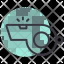 Whistle Sound Blow Icon