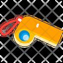 Whistle Alert Emergency Icon