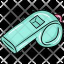 Whistle Wheeze Shrill Sound Icon