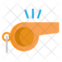 Whistle Sound Referee Icon