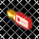 Ultrasonic Whistle Isometric Icon