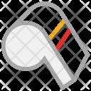 Whistle Sports Alarm Icon