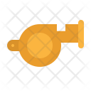 Whistle Police Referee Icon