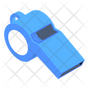 Whistle Whistling Device Referee Tool Icon
