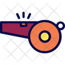 Goal Whistle Athletic Icon