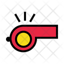 Whistle Referee Sport Icon