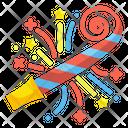 Whistle Blower Party Celebration Icon