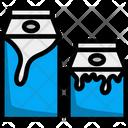 White Milk Drink Icon