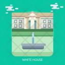 White House Usa Icon