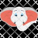 White Elephant Icon