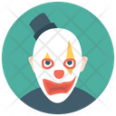 White Face Clown Icon