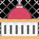 White House Congress Congress Building Icon