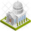 Building White House Government Icon